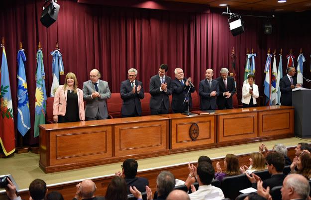 Jueces de Corte de Salta - archivo- Crédito: Prensa Gobierno de Salta